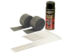 Heat Wrap Kit; Blk 2 x (2