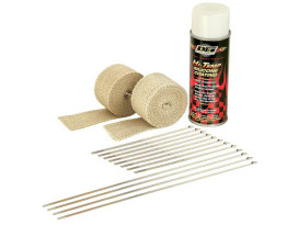 Heat Wrap Kit; Tan 2 x (2