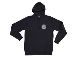 Dixxon Branded Black Hoodie. Medium.
