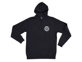 Dixxon Branded Black Hoodie. Large.