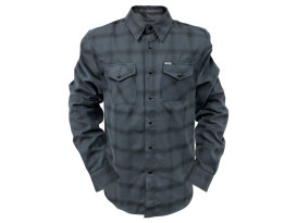 Grey Scale Flannel - X-Large