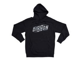 Dixxon Slice Black Hoodie. Large.