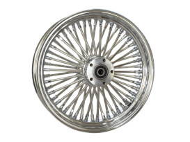 16in. x 3.5in. Mammoth Fat Spoke Rear Wheel - Chrome. Fits Softail 2000-2007, Dyna 2000-2005, Sportster 2000-2004 & Touring 2000-2001.