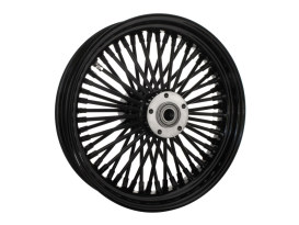 16in. x 3.5in. Mammoth Fat Spoke Rear Wheel - Gloss Black. Fits Softail 2011up.