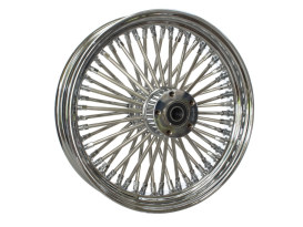 16in. x 3.5in. Mammoth Fat Spoke Rear Wheel - Chrome. Fits Softail 2011up.