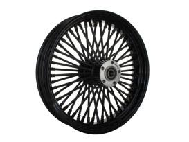 18in. x 3.5in. Mammoth Fat Spoke Rear Wheel - Gloss Black. Fits Softail 2008up.