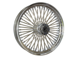 18in. x 3.5in. Rear Mammoth 52 Fat Spoke Wheel - Chrome. Fits Softail 2011up.