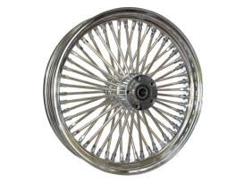 18in. x 3.5in. Mammoth Fat Spoke Rear Wheel - Chrome. Fits Softail 2011up.