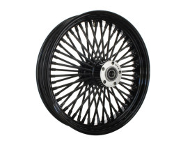 18in. x 4.25in. Mammoth Fat Spoke Rear Wheel - Gloss Black. Fits Dyna 2012-2017, Sportster 2014up and Touring 2008.