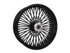 18in. x 5.5in. Mammoth Fat Spoke Rear Wheel - Gloss Black. Fits Softail 2008up.
