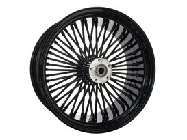 18in. x 8.5in. Mammoth Fat Spoke Rear Wheel - Gloss Black. Fits Softail Breakout 2013-2017 & Rocker 2011.