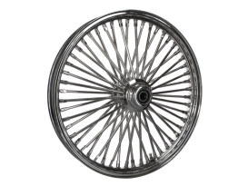 21in. x 2.15in. Mammoth Fat Spoke Front Wheel - Chrome. Fits FX Softail 2000-2015, Softail Fat Boy 2007 & Dyna Wide Glide 2000-2005.