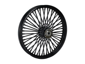 21in. x 2.15in. Mammoth Fat Spoke Front Wheel - Gloss Black. Fits Mid Glide Dyna 2012-2017 & FX Softail 2018up.