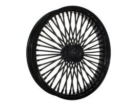 21in. x 3.5in. Mammoth Fat Spoke Front Wheel - Gloss Black. Fits FX Softail 2011-2015.