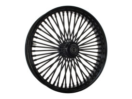 21in. x 3.5in. Mammoth Fat Spoke Front Wheel - Gloss Black. Fits Softail Breakout 2013up.