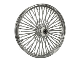 21in. x 3.5in. Mammoth Fat Spoke Front Wheel - Chrome. Fits Softail Breakout 2013up.