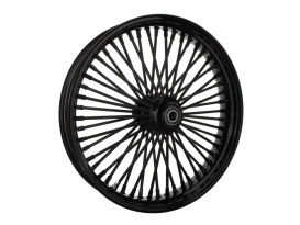 21in. x 3.5in. Mammoth Fat Spoke Front Wheel - Gloss Black. Fits FL Softail 2000up & FX Springer 2000up.
