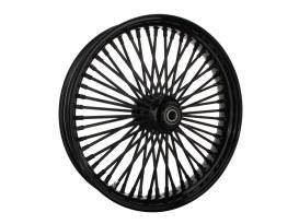 21in. x 3.5in. Mammoth Fat Spoke Front Wheel - Gloss Black. Fits FL Softail 2011up.