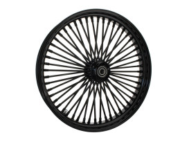 23in. x 3.5in. Mammoth Fat Spoke Front Wheel - Gloss Black. Fits Mid Glide Dyna 2012-2017 & FX Softail 2018up.