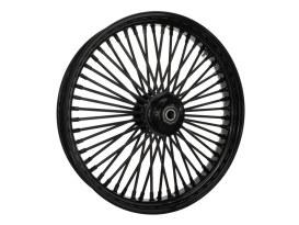 23in. x 3.5in. Mammoth Fat Spoke Front Wheel - Gloss Black. Fits FX Softail 2011-2015.