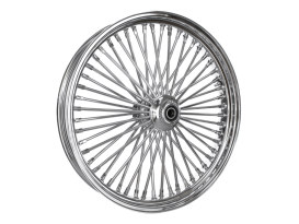 23in. x 3.5in. Mammoth Fat Spoke Front Wheel - Chrome. Fits Softail Breakout 2013up.