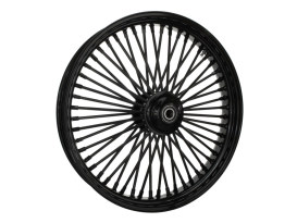 23in. x 3.5in. Mammoth Fat Spoke Front Wheel - Gloss Black. Fits FL Softail 2011up.