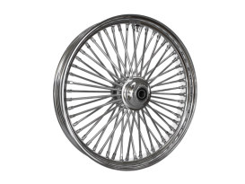 23in. x 3.5in. Mammoth Fat Spoke Front Wheel - Chrome. Fits FL Softail 2000up & FX Springer 2000up.