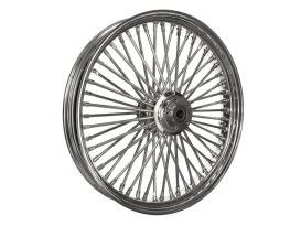 23in. x 3.5in. Mammoth Fat Spoke Front Wheel - Chrome. Fits Touring 2008up