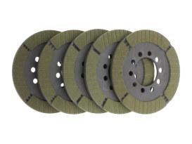 Friction Plates; Big Twin'41-84 Kevlar(pk5)