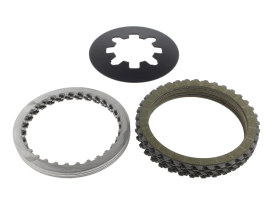 Clutch Kit; Extra Plate Big Twin'90-97 &Sportster'91up inc. Diaphragm Spring