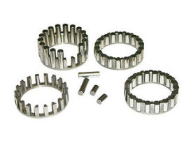 Rod Cages with Standard Size Roller Bearings. Fits Big Twin 1936-1986.