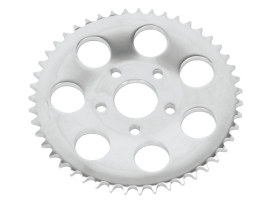 51 Teeth Rear Chain Sprocket with 13mm Offset & Chrome Finish. Fits FXR 1980-1985.