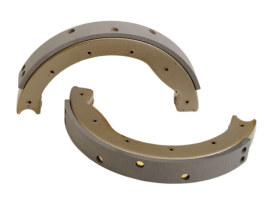 Brake Shoes. Fits Rear on Big Twin 1963-1972 with Hydraulic Brake.