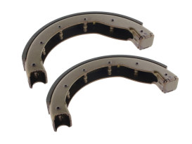 Brake Shoes. Fits Rear on Sportster 1954-1978 & Front on Big Twin 1949-1971 Models with Mechanical Brake Drum.
