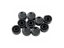 Starter & Horn Short Switch Cap - Black. Fits Big Twin & Sportster 1972-1981.