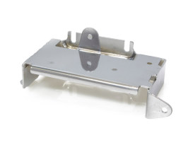 Battery Tray with Chrome Finish. Fits FXE 1973-1979.
