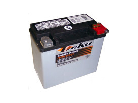 Premium AGM Motorcycle Battery. Fits Softail & Dyna 1991-1996.