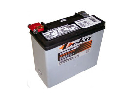 Premium AGM Motorcycle Battery. Fits Softail 1997up & Dyna 1997-2017, Sportster 1997-2003, VRSC 2007-2017 & Victory.
