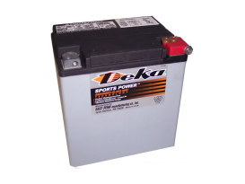 Premium AGM Motorcycle Battery. Fits Touring 1997up.