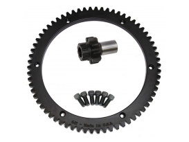 Starter Ring Gear Kit; Big Twin'90-93 66T (inc 9T Pinion Gear)