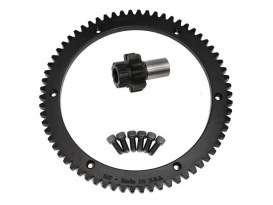 66 Tooth Starter Ring Gear Kit. Fits Big Twin 1994-1997.