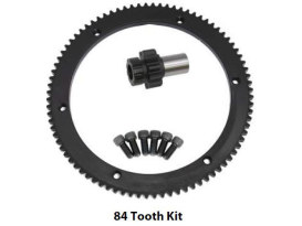 84 Tooth Starter Ring Gear Kit. Fits Big Twin 1998-2006.