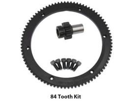 Starter Ring Gear Kit; Big Twin'98-06 84T5spd (inc 10T Pinion Gear)