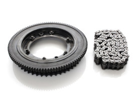 Starter Ring Gear Kit; FLH'17up w/Clutch Sprocket