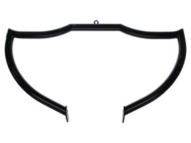 Shield Front Crashbar - Gloss Black. Fits Softail 2001-2017.