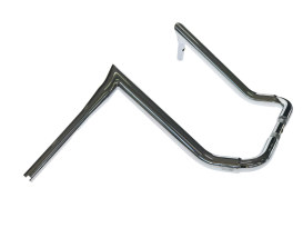 16in. x 1-1/2in. Assault Handlebar - Chrome. Fits Ultra and Street Glide Models.