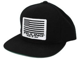 Feuling American Flag Classic Snapback - Black.