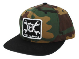 Feuling Wrench Classic Snapback - Camo.