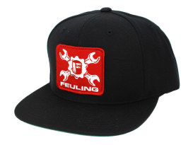 Feuling Wrench Classic Snapback - Black.