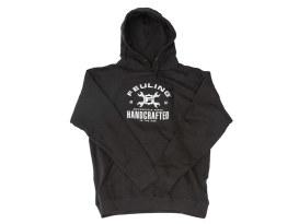 Feuling Handcrafted Black Hoodie. Medium.